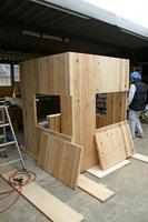 木箱no.2 製作風景2