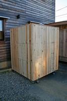 木箱no.2 モデルハウス横