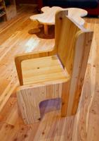 木取り家具 椅子