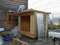 木箱no.1   製作過程 鼻隠し・破風板