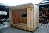 木箱no.1製作過程 原型ができた