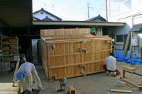 木箱no.1 製作過程 底面2