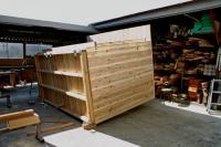 木箱no.1 製作過程 底面
