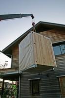 吊り上げられた、木箱no.2