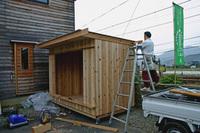 木箱no.1   製作過程 最終段階