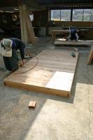 木箱no.1   製作過程 床