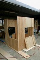 木箱no.2 製作風景1